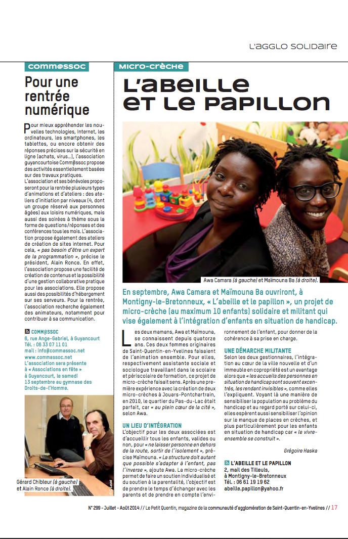 Le Petit Quentin jui-aout 14